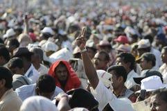 Rassemblement indien image libre de droits