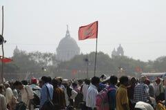 Rassemblement indien Images stock