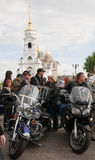 Rassemblement international de Harley-Davidson Photo libre de droits