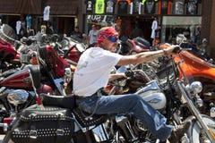 Rassemblement le Dakota du Sud de Sturgis Images libres de droits