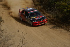 RASSEMBLEMENT MEXIQUE 2007 DE CORONA DE WRC Photo libre de droits