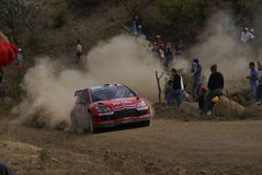RASSEMBLEMENT MEXIQUE 2007 DE CORONA DE WRC Photo stock