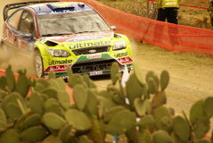 Rassemblement Mexique de corona de WRC 2010 LATVALA Image stock