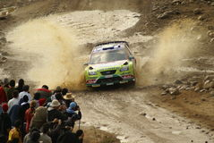 Rassemblement Mexique de corona de WRC Photos stock