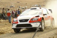 Rassemblement Mexique de corona de WRC Photo libre de droits