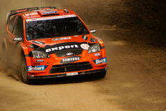Rassemblement Mexique de corona de WRC Henning 2010 Solberg images stock