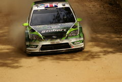 Rassemblement Mexique de corona de WRC WILSON 2010 Image libre de droits