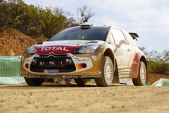 Rassemblement Guanajuato Mexique 2013 de WRC Photos libres de droits