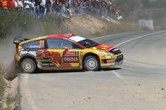 Rassemblement Portugal de WRC Photos libres de droits