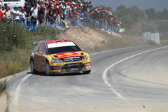 Rassemblement Portugal de WRC Photo libre de droits