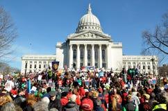 Rassemblement pour indiquer le marcheur du Gouverneur Photos libres de droits