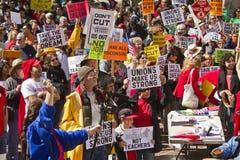 Rassemblement pour sauvegarder le rêve américain Photos libres de droits