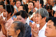 Rassemblement religieux Images stock