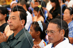 Rassemblement religieux Photographie stock