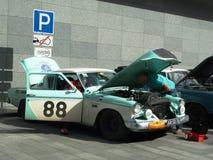 Rassemblez Pékin à Paris 2013, Kharkov, la voiture 88 de réparations Photographie stock libre de droits