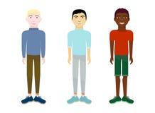 rassen stock illustratie