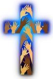 Rassisches Verschiedenartigkeit-Kreuz Lizenzfreies Stockbild