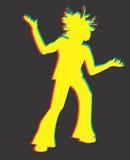 rasta человека иллюстрации Стоковые Изображения RF