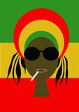 Rasta libre illustration