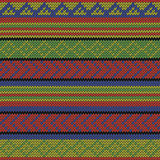 Rasta aztec pattern Stock Photo