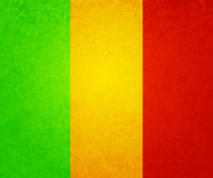 Rasta Background. Green Yellow and Red Royalty Free Stock Images