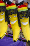 Rasta Banana Royalty Free Stock Photography