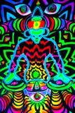 Rasta-couleur Photos libres de droits