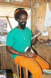 Rasta craftsman Stock Photo