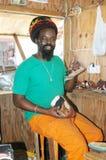Rasta craftsman Stock Photo