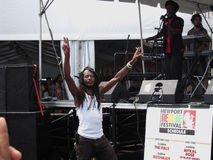 Rasta Guy Newport Reggae Festival photos stock