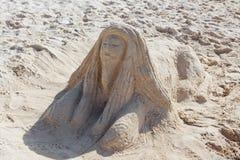 Rasta ha fatto dalla sabbia Fotografia Stock Libera da Diritti