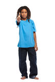 Rasta kid with thumbs up Royalty Free Stock Image
