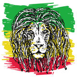 Rasta lion vector Stock Photos
