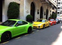 Rasta Porsche Royaltyfria Bilder