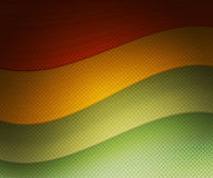 Rasta Retro Wavy Background Royalty Free Stock Photos