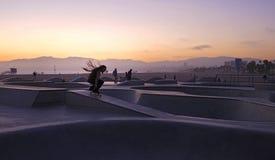 Rasta-Schlittschuhläufer Stockfotos