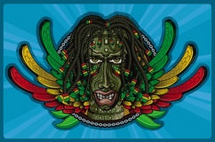 Rasta Tiki Human Stock Photography