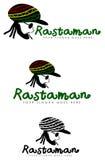 Rastafarian标志 免版税库存照片