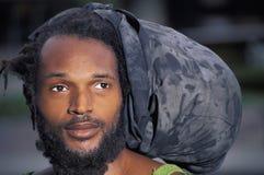 Rastafarian,特立尼达 图库摄影