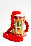 Rastafarian drum Royalty Free Stock Photos