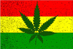 Rastafarian Flag Stock Photography