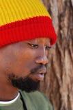rastafarian man Royaltyfria Foton