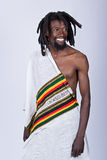 Rastafarian man Royalty Free Stock Images