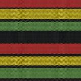 Rastafarian paskuje bezszwowego wzór Fotografia Royalty Free
