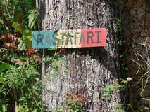 Rastafarian. Rasta Jamaican sign Stock Images