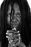 Rastafarian woman royalty free stock photography