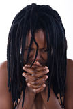 Rastafarian woman Stock Photography