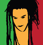 Rastaman Stock Photography