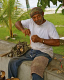 Rastaman, San Andres Island, Colombia Royalty Free Stock Photo