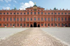Rastatt residence (Castle)-Germany Royalty Free Stock Photos